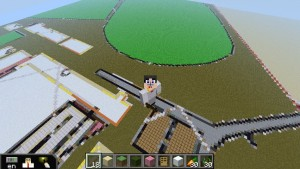 Ground plans in Minecraft