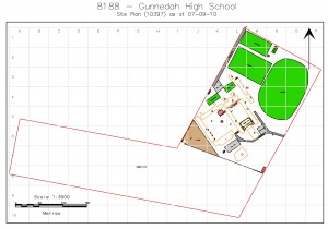 Scaled Plans of GHS